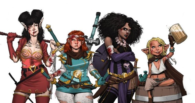 Fra venstre: Hannah, Violet, Dee & Betty (Image)