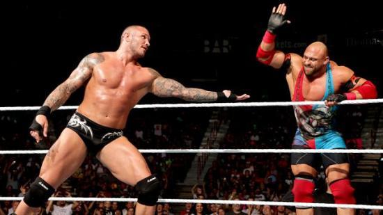 Lukewarm tag! (WWE)