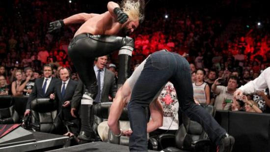 Curb stomp! (WWE)