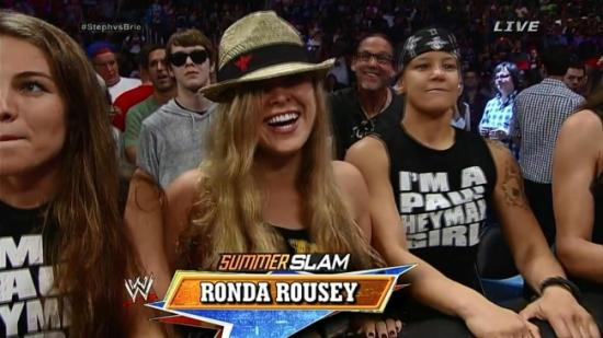 PPV i LA betyr mye kjente fjes i publikum (WWE)