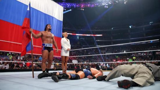 """""""Pst, er det lenge igjen Zeb? Jeg begynner å få krampe i leggen"""" (WWE)"""