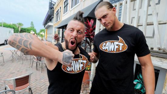 To av de morsomste mennene i NXT! S-A-W-F-T! (WWE)