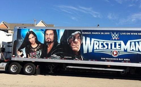 WWEs nye truck får AJ til å se ut som første stadie i en Pokemon!  8via Twitter)