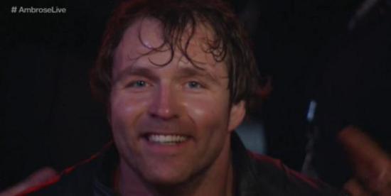 Smilet til en mann som innser at den overkompliserte planen hans på mirakuløst vis fungerte akkurat som planlagt! (WWE via Twitter)