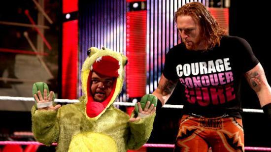 """""""hvis publikum legger fra seg faklene og høygaflene hadde jeg vært mye roligere"""" (WWE)"""