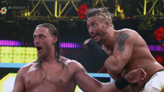 Ansiktsutrykkene sier sitt (NXT via WithLeather)