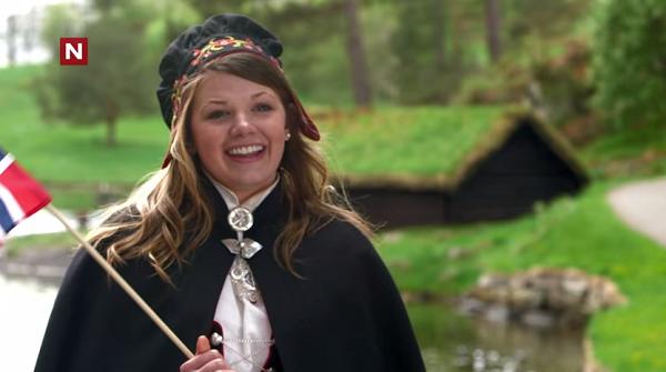 Hun er jo søt da, selv om norsk er vanskelig! (TVNorge/Youtube)
