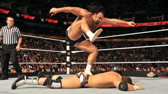 """""""..and stay down!"""" (WWE)"""
