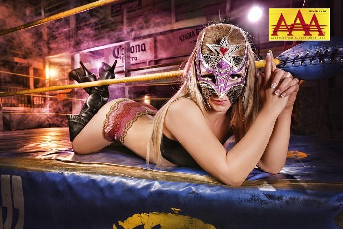 ...dog ikke like vågal som noen av promobildene av Sexy Star i arkivet til AAA (AAA)