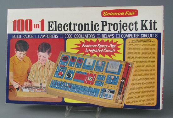 Et amerikansk elektronikkforsøk-sett