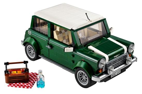 Mini Cooper Sett nr 10242.  1077 biter. Veil. pris 949,-  (LEGO)