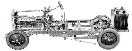 Om du gikk lei av fagverk kunne du jo bygge et chassis.