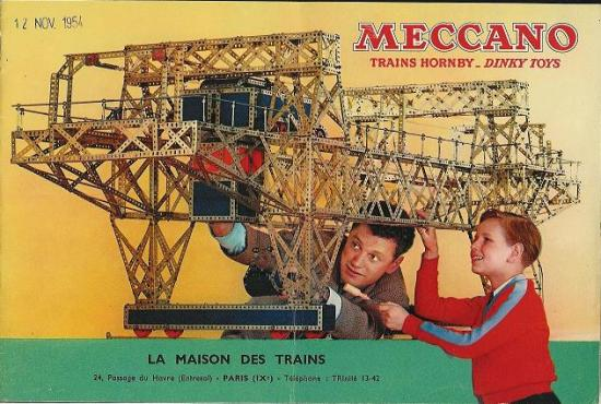 Meccanos katalog for 1954 (via Google)
