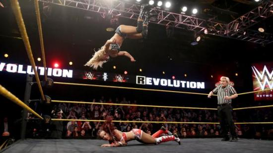 """""""Fight like a girl!"""" (NXT)"""