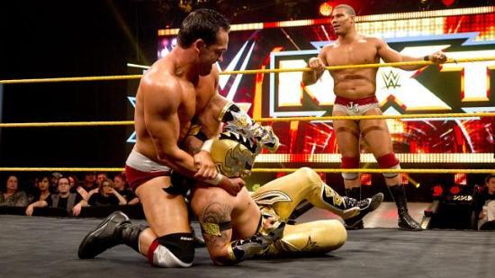 ...Sin Cara maske er fortsatt forbannet og muligens hjemsøkt av alle botch-gremliner i Nord-Amerika. (NXT)