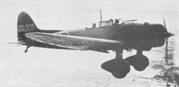 En D3A1 fotografert i lufta i 1941