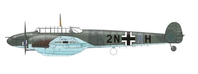 ErprobungsGruppe 210, sommeren 1940 (Eduard)