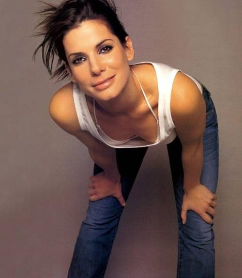 Bildet er noen år gammelt, så her er hun neppe mer enn 44-45...