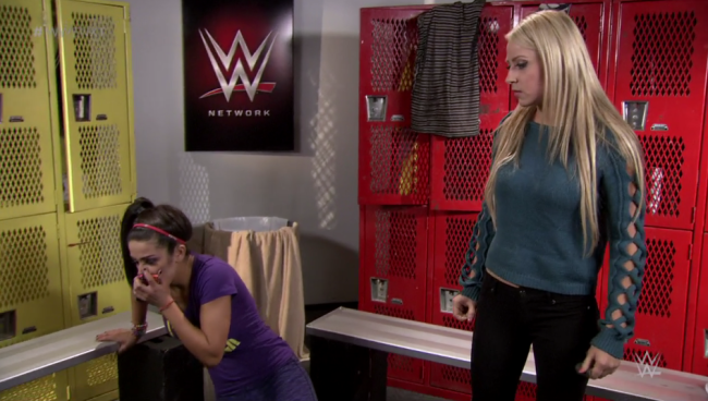 """Skade gjør klok!"" (NXT via Uproxx)"