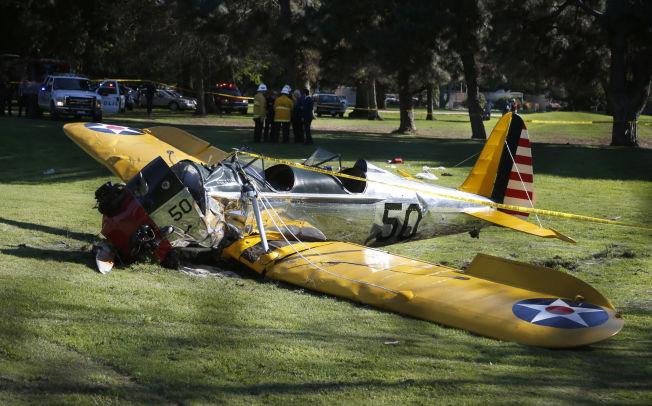 Fords fly etter et ublidt møte med moder jord (Lucy Nicholson via VG)