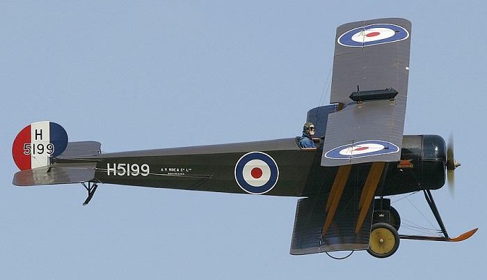 Avro 504 (flugzeuginfo.net)