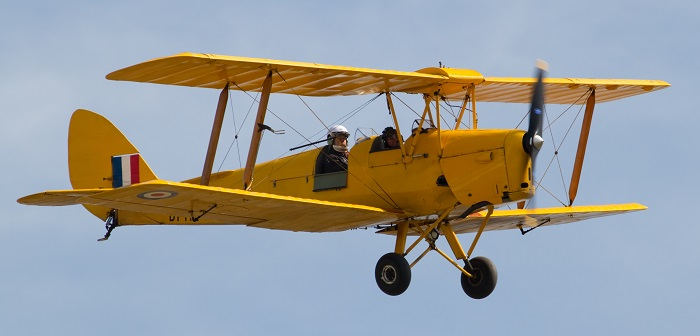 DeHaviland DH82 Tiger Moth (Wikipedia)