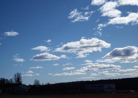 Døsige skyer