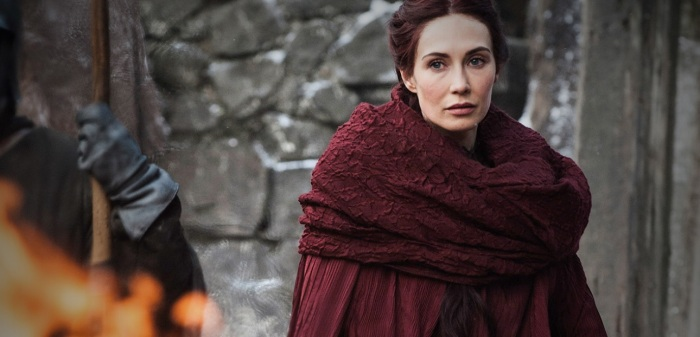 "Melisandre: ""The dead don't need lovers. Only the living.""  Jon Snow: ""I know…but I still love her.""  Melisandre: ""You know nothing, Jon Snow."""