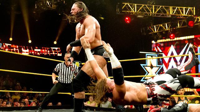 Teamet er 25% Enzo, 75% Big Cass  (NXT)