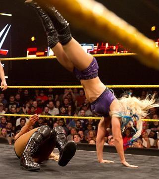 Roll-ups er kjedelig. (NXT)