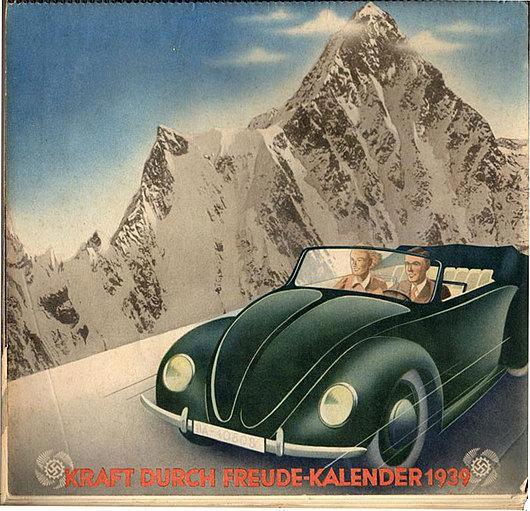 Reklameplakat fra 1938