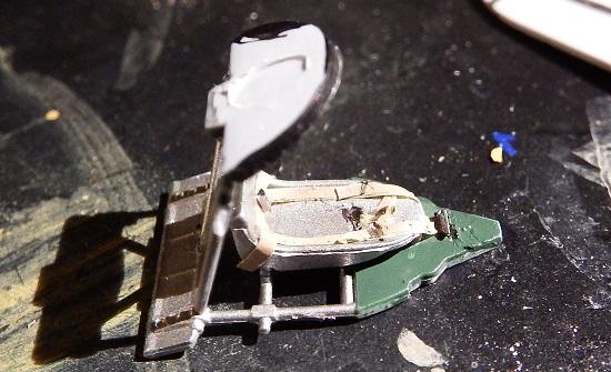 Det eneste som manglet var et setebelte, så frem med maskeringsteipen!