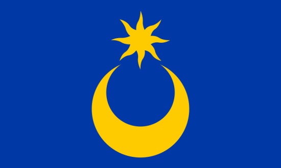 Portsmouth flagg (via Wikipedia)