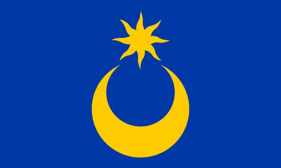 Portsmouth flagg (via Wikipedia)