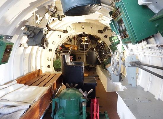 Innsiden av X-24,  litt mindre armslag her!