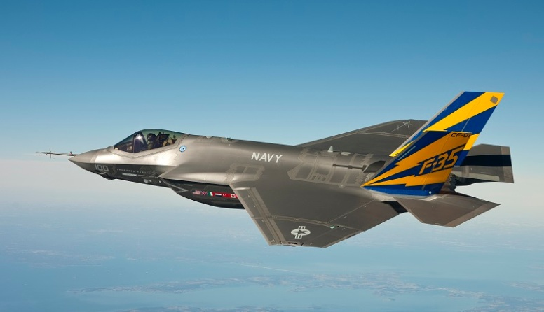 F-35   (U.S. Navy photo courtesy Lockheed Martin/Released via Wikipedia)