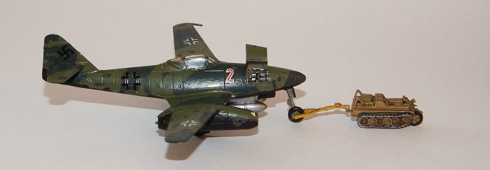 Me262A-1a ferdigbygget!