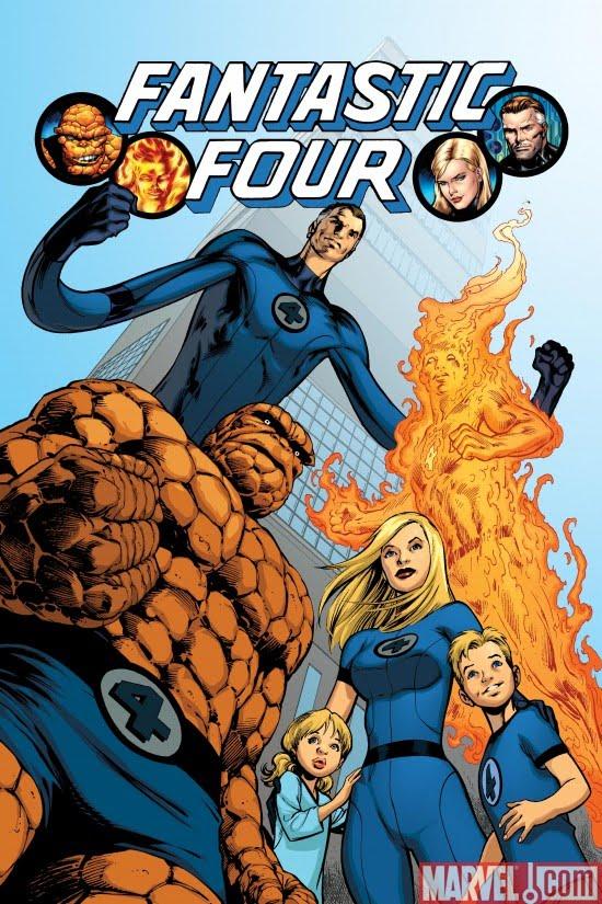 Originalene, inkludert Reed og Sues barn Franklin og Valeria  (Marvel)