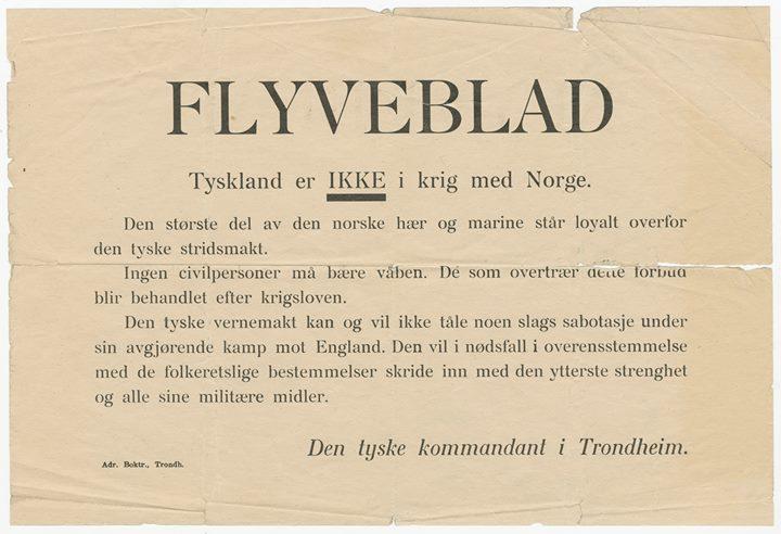 flygeblad