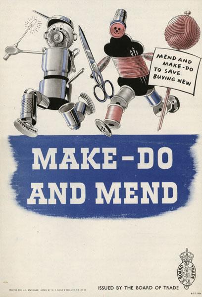 Britisk propagandaplakat fra 1940 (Foto:IWM)