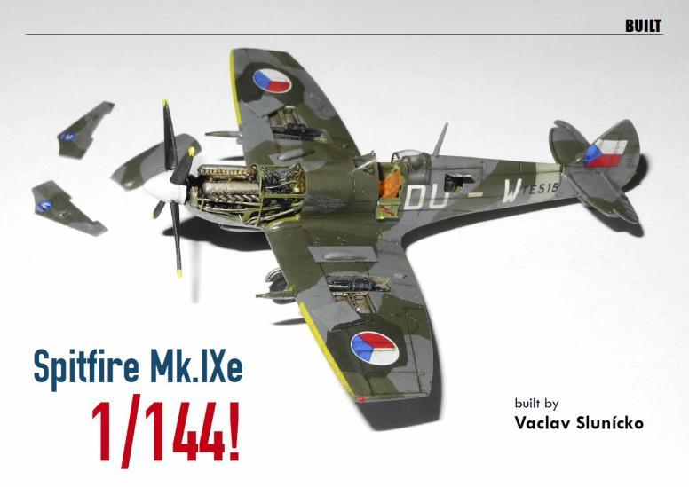 1-144 Eduard Spitfire Mk IXe (Vaclav Slunicko) - main