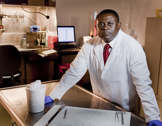 Dr. Bennet Omalu  (via universityofcalifornia.edu)