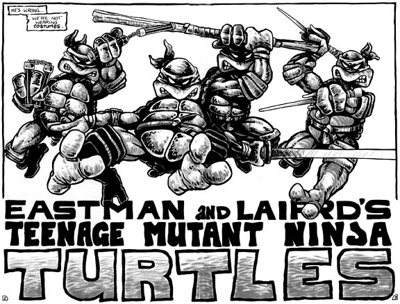 TMNT_Tortues_Ninja_Pages_2-3_comics_Mirage4