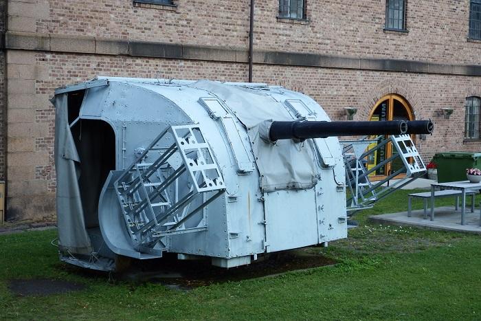 Kanontårn supplerer de tradisjonelle støpejernskanonene
