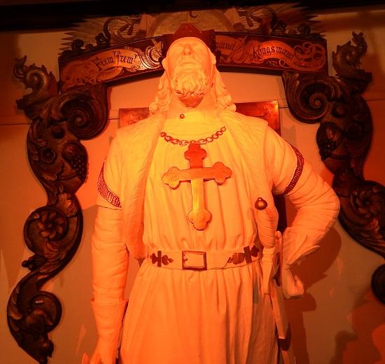 Gallionsfiguren til dampbåten St.Olaf