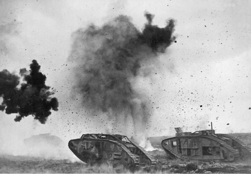 Arkivfoto 016 Tank Mk Iv Polar Coordinate