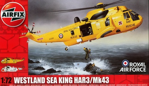 Airfix Sea King Hc  Builds